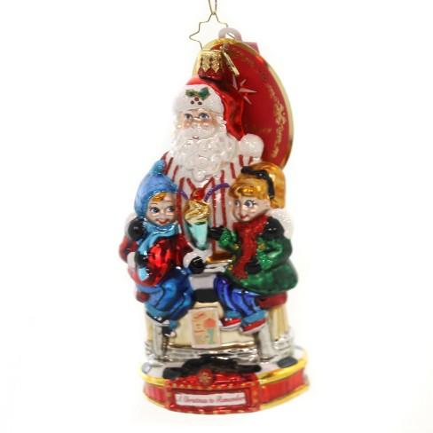 "Christopher Radko 6.0"" Soda Shop Surprise Ornament Christmas Remember - image 1 of 2"