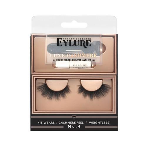 Eylure Luxe False Eyelashes Cashmere No4 - 1pr