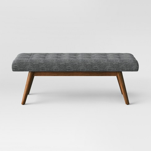 Copan Mid Century Bench Dark Gray - Project 62™ - image 1 of 4