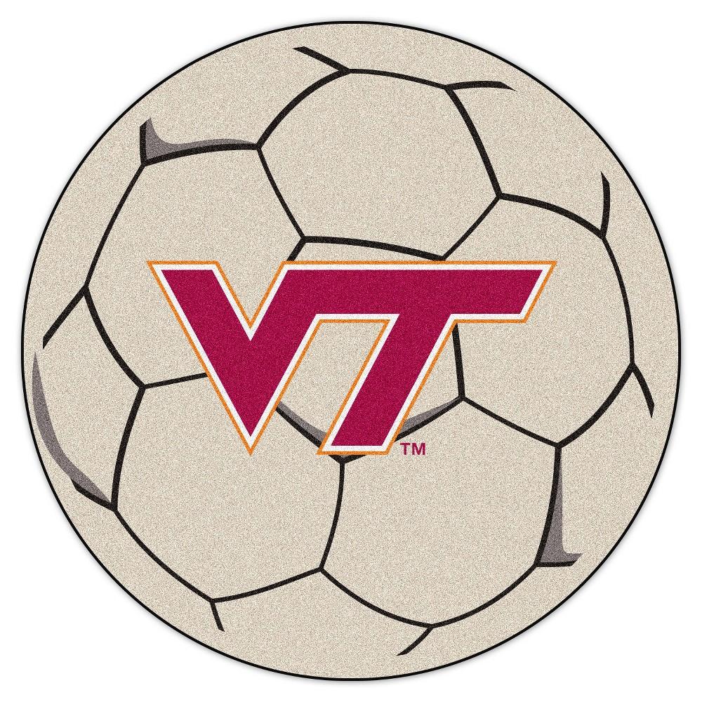 NCAA 27 Soccer Ball Mat Virginia Tech Hokies