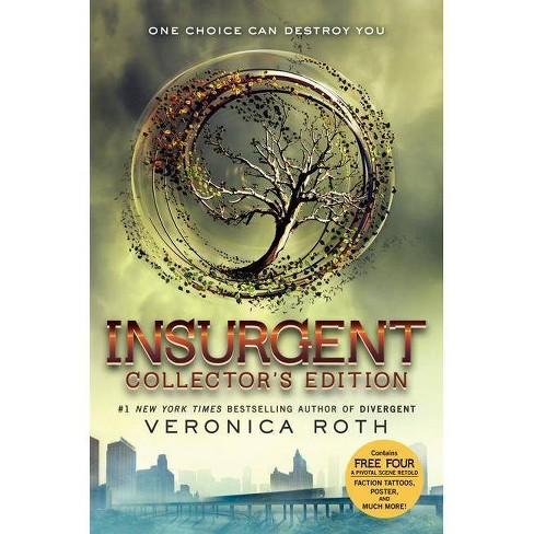 Insurgent Collector's Edition - (Divergent Trilogy) by  Veronica Roth (Hardcover) - image 1 of 2