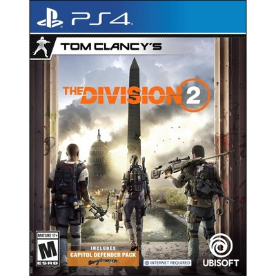 Tom Clancys: The Division 2 - PlayStation 4