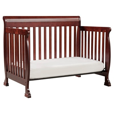 DaVinci Kalani 4-in-1 Convertible Crib - Cherry, Rich Red