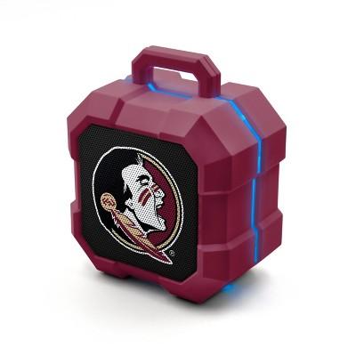 NCAA Florida State Seminoles LED Shock Box Bluetooth Speaker