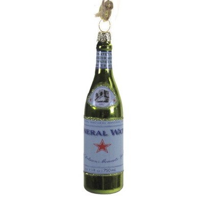"""Holiday Ornament 4.75"""" Mineral Water Ornament Beverage Sparkling H2o  -  Tree Ornaments"""