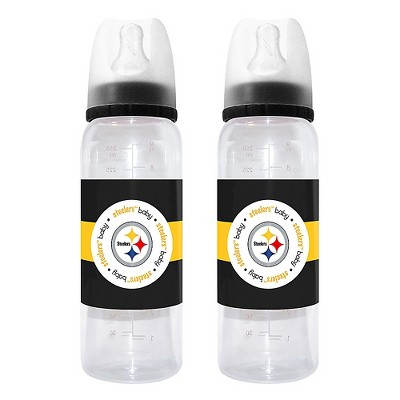 Pittsburgh Steelers Baby Fanatic Bottle - 2 Pack