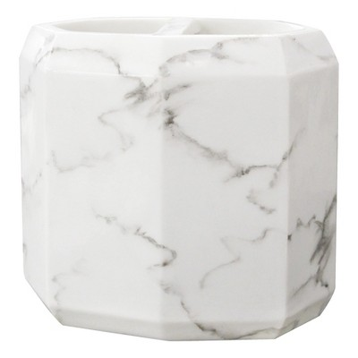 Marble Facet Toothbrush Holder - Allure