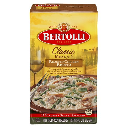 Bertolli Roasted Chicken Risotto Frozen Classic Meal - 24oz - image 1 of 1