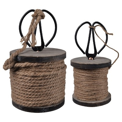 One Large Roll Of 26 Yard Twine With Scissors - A&B Home