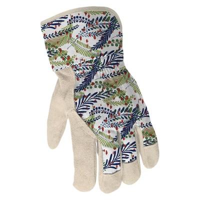 Gardening Gloves Blue/Green Floral - Smith & Hawken™