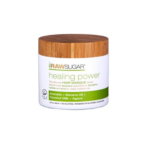 Raw Sugar Healing Power Avocado Banana Oil Coconut Milk Honey