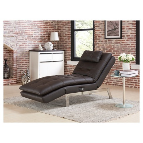 Anderson Chaise - Brown - Relax - A - Lounger - image 1 of 5