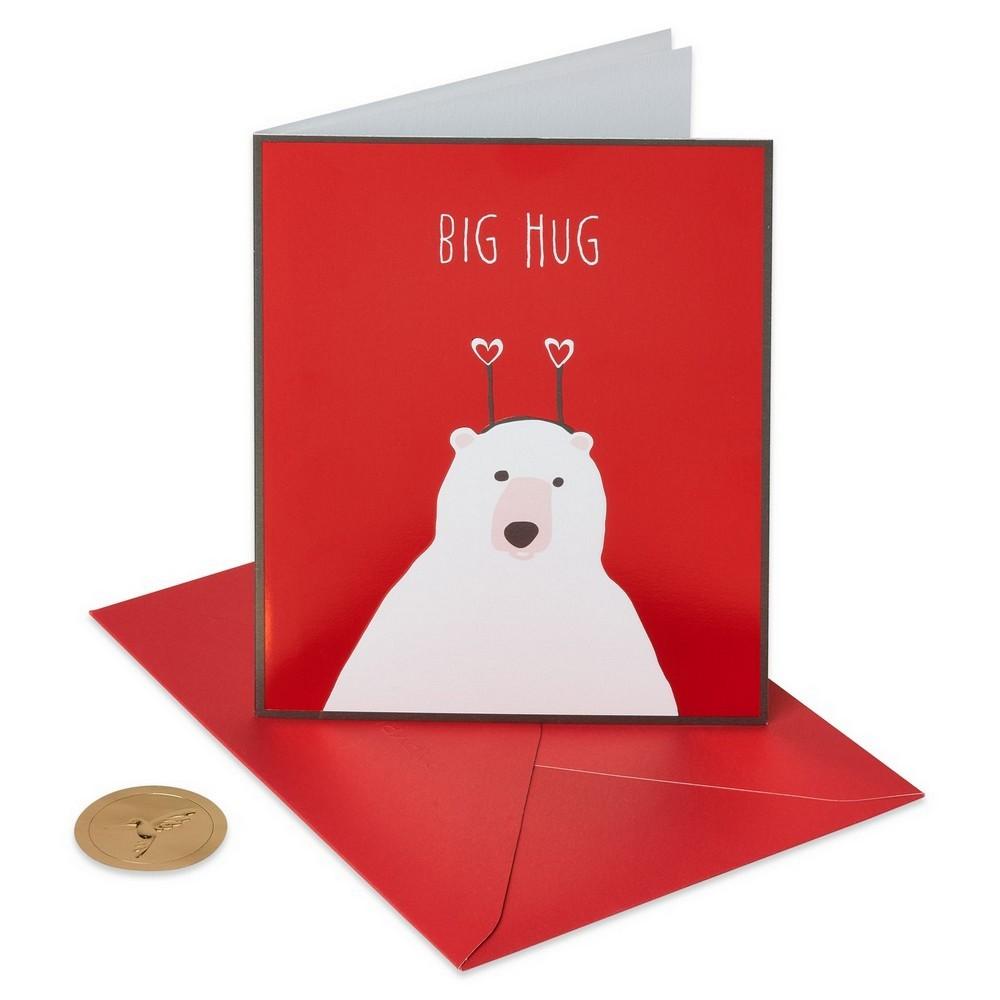 Big Hug Greeting Card - Papyrus, Multi-Colored