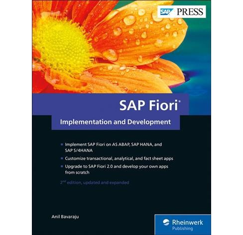SAP Fiori Implementation and Development -  by Anil Bavaraju (Hardcover) - image 1 of 1