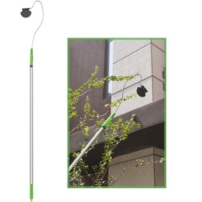 Gardenised Telescopic Gutter Cleaner