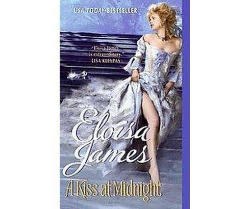 A Kiss at Midnight (Paperback) by Eloisa James - image 1 of 1