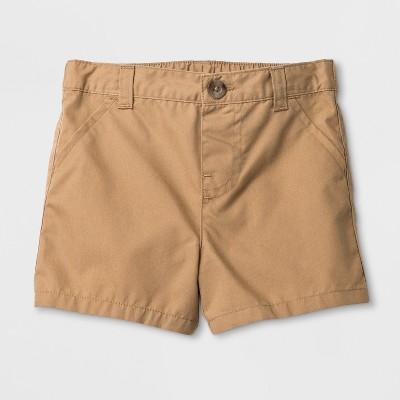 Baby Boys' Chino Shorts - Cat & Jack™ Khaki 6-9M