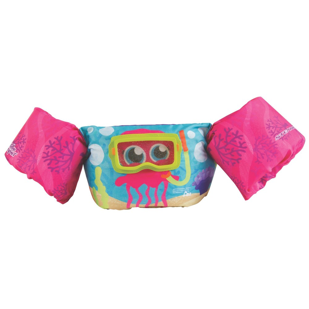 Stearns Puddle Jumper Kids Deluxe 3D Life Jacket - Pink Octopus