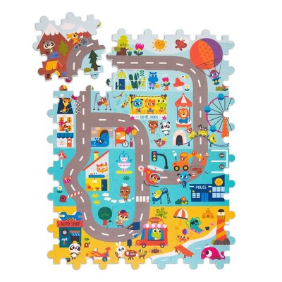 Land of B. Foam Floor Puzzle - Whimsy Land 12pc