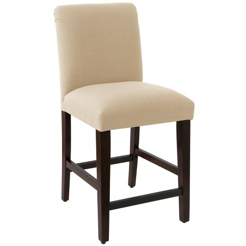 Luisa Pleated Counter Stool - Cloth & Co. - image 1 of 6