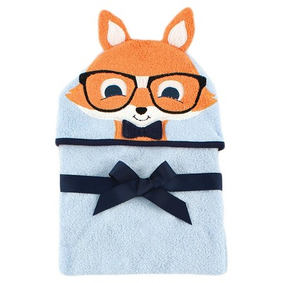Hudson Baby Newborn Hooded Animal Towel - Fox