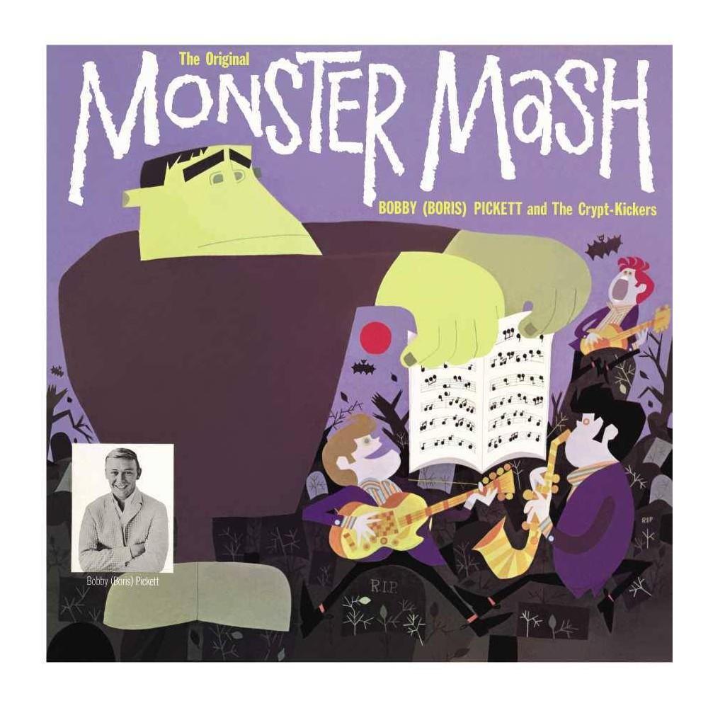 Bobby Boris Pickett The Crypt Kickers The Original Monster Mash Deluxe Lp Reissue On Purple Vinyl