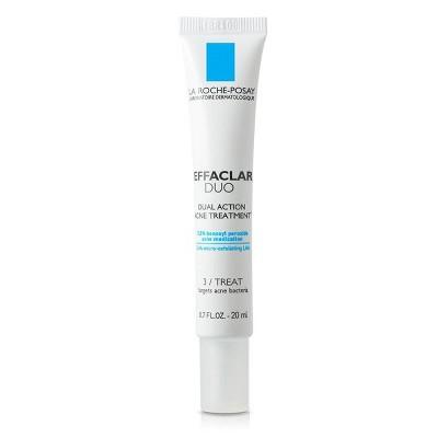 La Roche-Posay Effaclar Duo Dual Action Acne Treatment - 0.7 fl oz