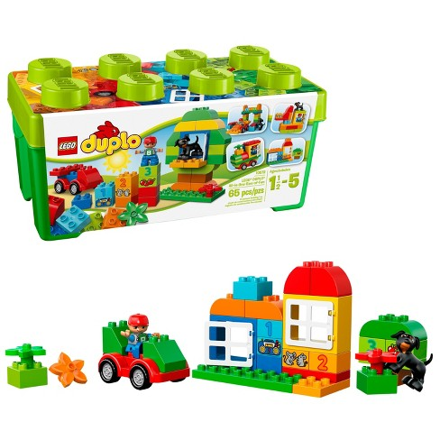 LEGO DUPLO My First All-in-One-Box-of-Fun 10572 - image 1 of 4