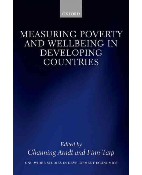 Measuring Poverty and Wellbeing in Developing Countries (Hardcover) - image 1 of 1