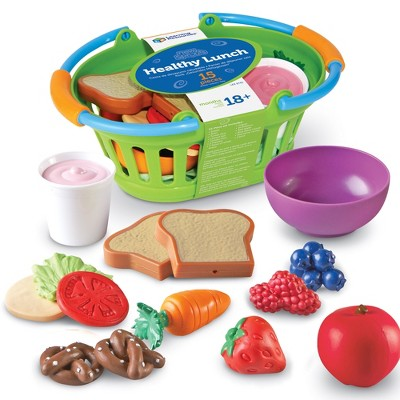 Learning Resources New Sprouts Healthy Lunch, 15 Pieces, Ages 18 mos+