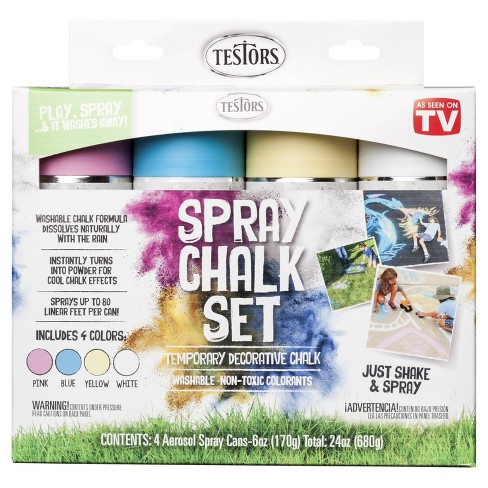 As Seen on TV® Testors Spray Chalk Kit - image 1 of 1