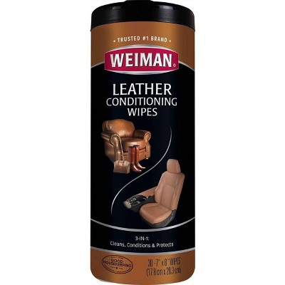 Weiman Leather Wipes - 30ct