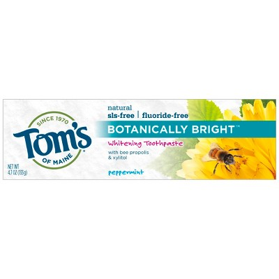 Toothpaste: Tom's of Maine Botanically Bright