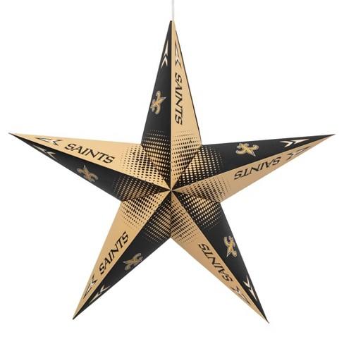 NFL New Orleans Saints Star Lantern - image 1 of 2