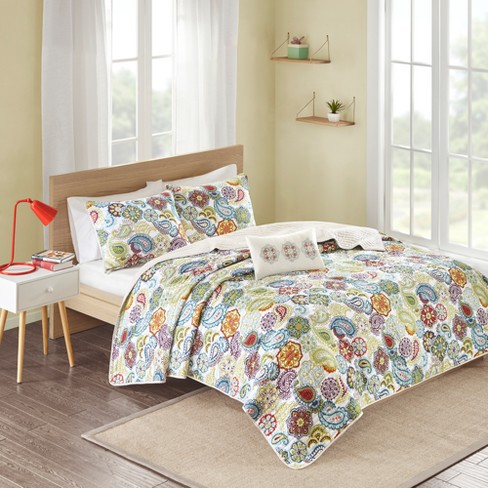 Tula Quilted Coverlet Set Target