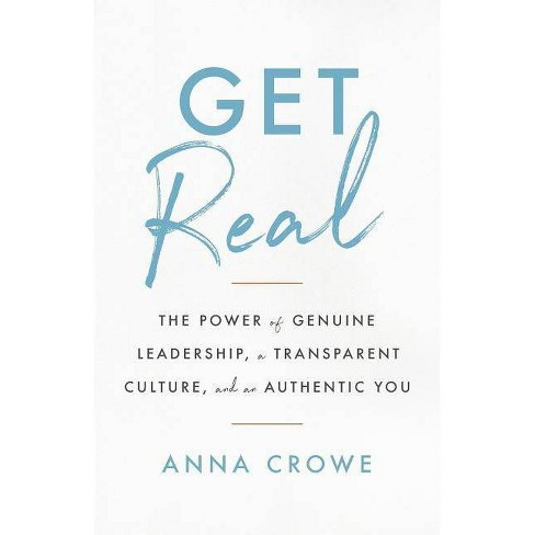 Get Real - by  Anna Crowe (Paperback) - image 1 of 1