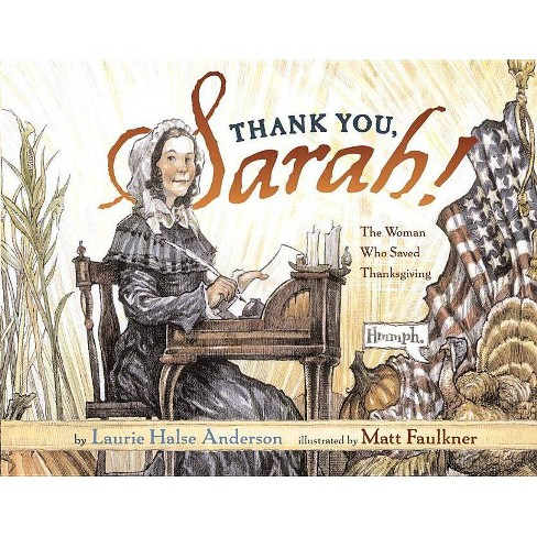 Thank You, Sarah - by  Laurie Halse Anderson (Hardcover) - image 1 of 1