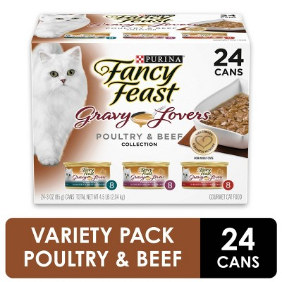 Cat Food: Fancy Feast Gravy Lovers