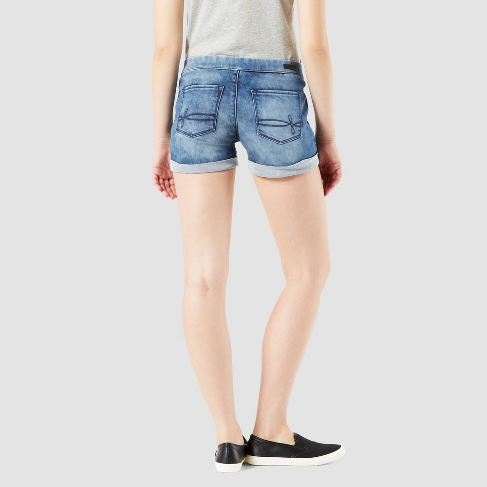 015bd88a Denizen from Levis Womens Rolled Jean Shorts Medium Wash L