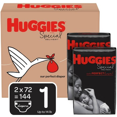 Huggies Special Delivery Disposable Diapers Economy Plus Pack - Size 1 (184ct)