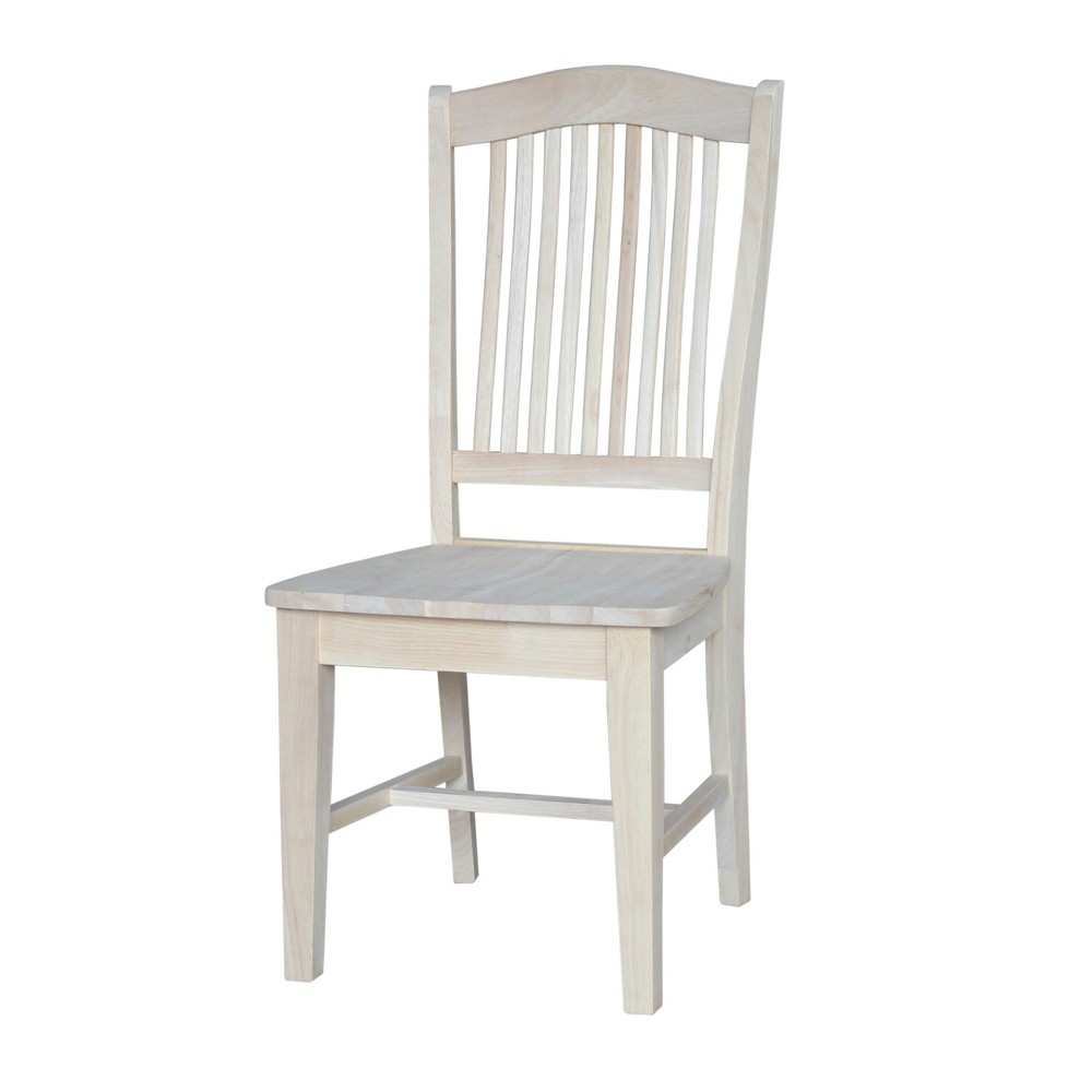 Set Of 2 Stafford Chair Unfinished - International Concepts