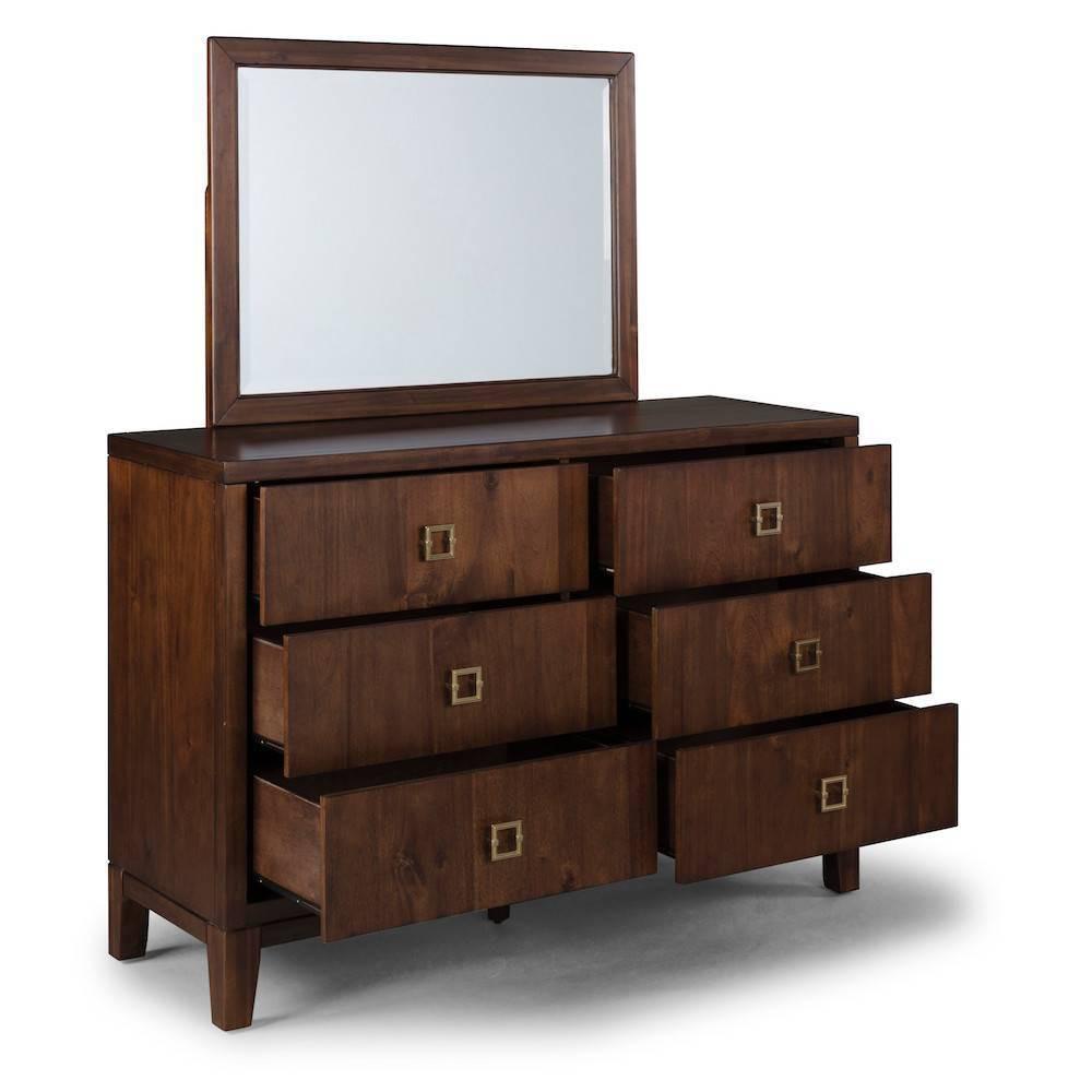 Bungalow Dresser and Mirror Medium Home Styles