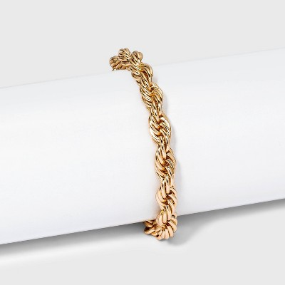 Twisted Bracelet - A New Day™ Gold