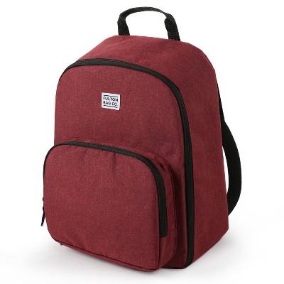 Fulton Bag Co. Diaper Bag - Tibetan Red