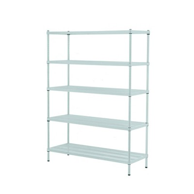 "Design Ideas Meshworks Steel Storage Shelving Unit – 5-Tier Unit 47.2"" x 17.7"" x 63"""