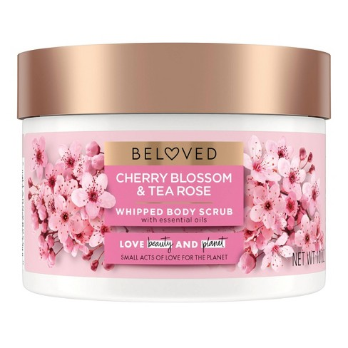 Beloved Cherry Blossom & Tea Rose Body Scrub - 10oz - image 1 of 4