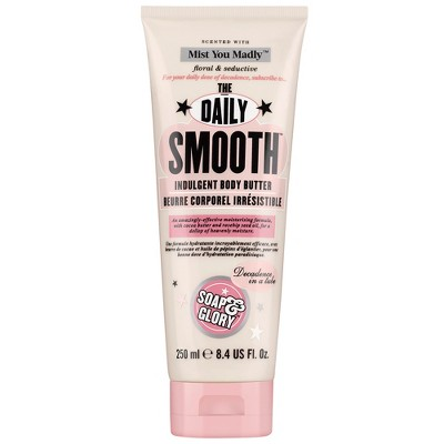 Soap & Glory Mist You Madly The Daily Smooth Dry Skin Formula Body Butter - 8.4oz