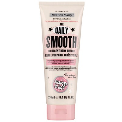 view Soap & Glory Mist You Madly The Daily Smooth Dry Skin Formula Body Butter - 8.4oz on target.com. Opens in a new tab.