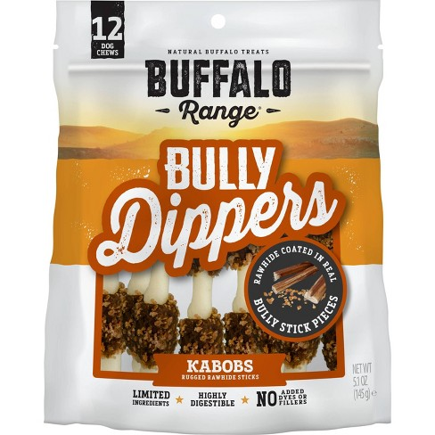 Buffalo Range Bully Dipped Kabob For Dogs -12ct - image 1 of 3