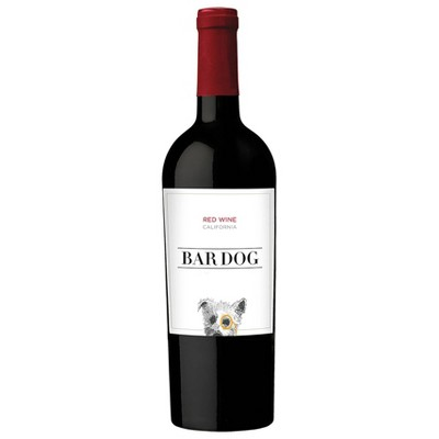 Bar Dog Red Blend Wine - 750ml Bottle